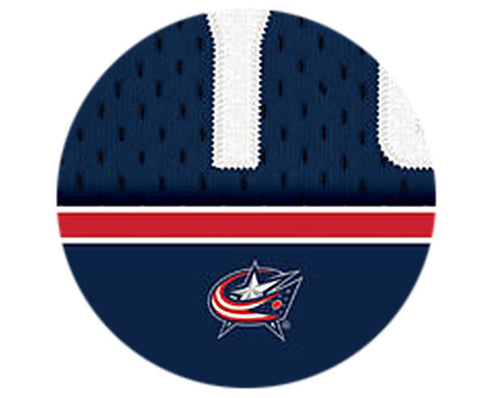 NHL Personalized Jersey Name Print - Columbus Blue Jackets
