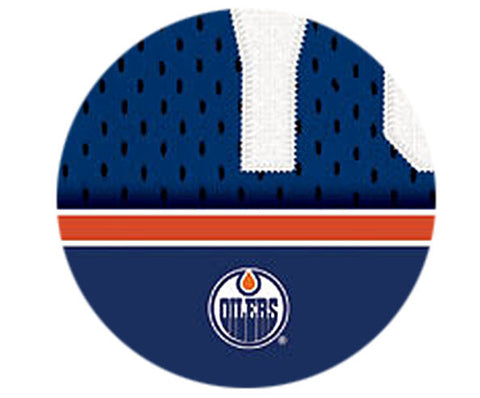 NHL Personalized Jersey Name Print - Edmonton Oilers