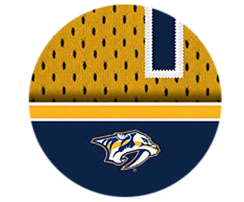 NHL Personalized Jersey Name Print - Nashville Predators