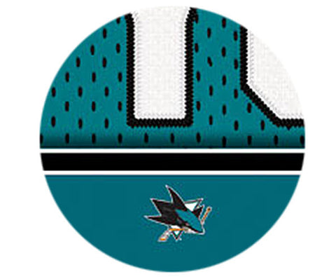 NHL Personalized Jersey Name Print - San Jose Sharks