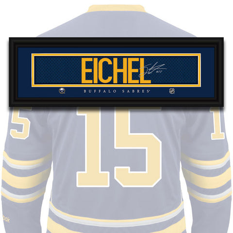 Buffalo Sabres - Jack Eichel - NHL Jersey Name Patch