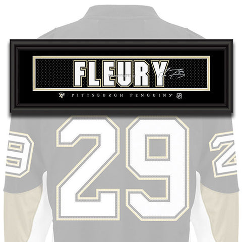 Pittsburgh Penguins - Marc-Andre Fleury - NHL Jersey Patch