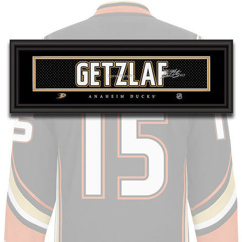 Anaheim Ducks - Ryan Getzlaf - NHL Jersey Patch