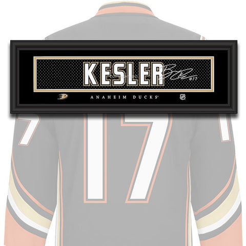 Anaheim Ducks - Ryan Kesler - NHL Jersey Patch