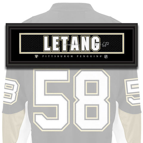 Pittsburgh Penguins - Kris Letang - NHL Jersey Patch