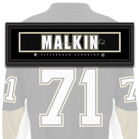Pittsburgh Penguins - Evgeni Malkin - NHL Jersey Patch