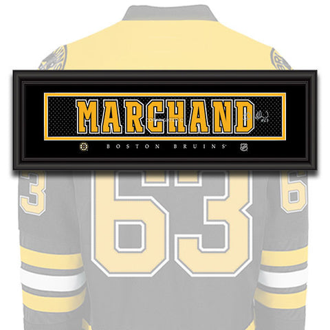 Boston Bruins - Brad Marchand - NHL Jersey Patch