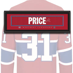 Montreal Canadiens - Carey Price - NHL Jersey Patch