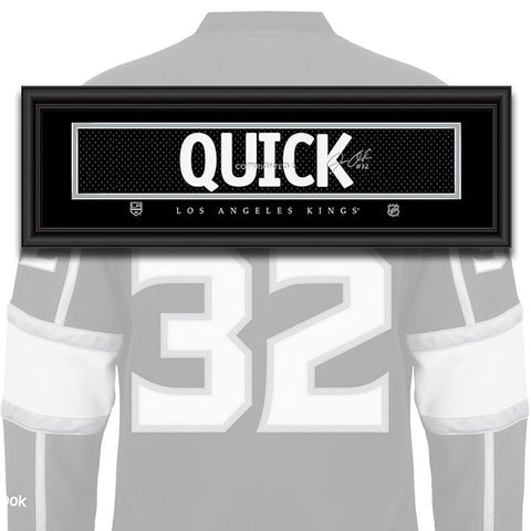 Los Angeles Kings - Jonathan Quick - NHL Jersey Patch