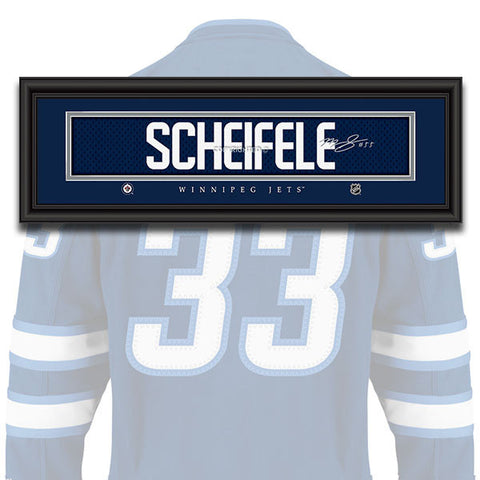 Winnipeg Jets - Mark Scheifele - NHL Jersey Patch