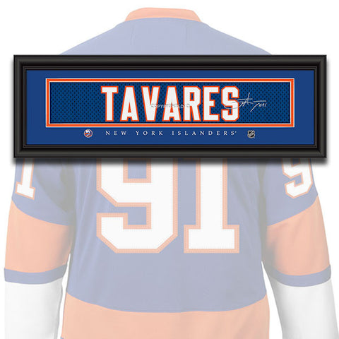 New York Islanders - John Tavares - NHL Jersey Patch