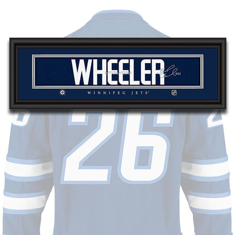 Winnipeg Jets - Blake Wheeler - NHL Jersey Patch