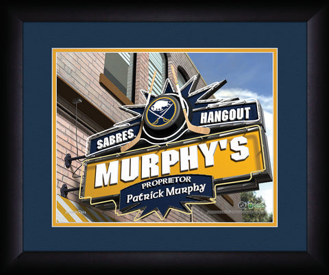 Personalized NHL Pub Sign - Buffalo Sabres
