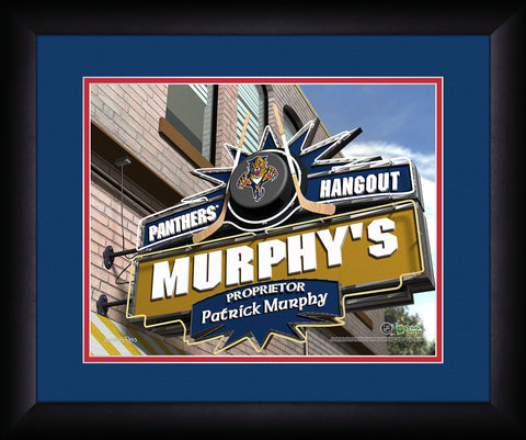 Personalized NHL Pub Sign - Florida Panthers
