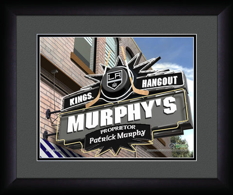 Personalized NHL Pub Sign - Los Angeles Kings