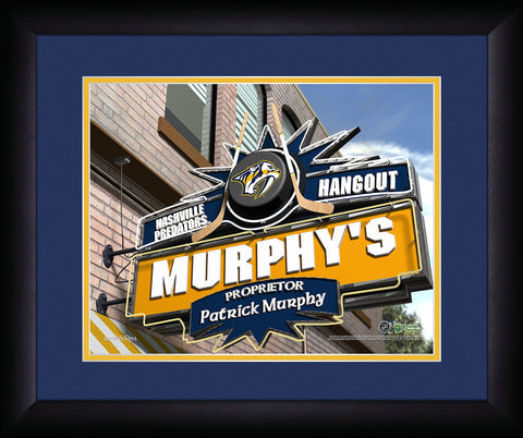 Personalized NHL Pub Sign - Nashville Predators