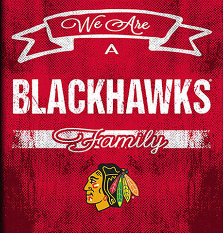 NHL Family Cheer Framed Art - Chicago Blackhawks