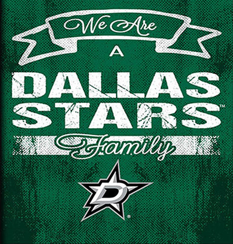 NHL Family Cheer Framed Art - Dallas Stars