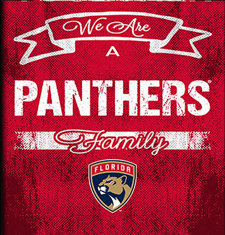 NHL Family Cheer Framed Art - Florida Panthers