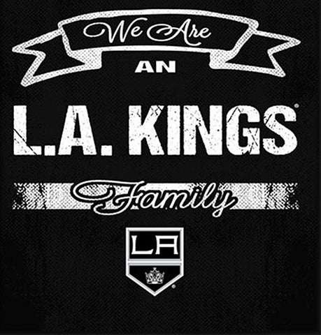 NHL Family Cheer Framed Art - Los Angeles Kings