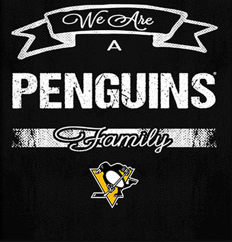 NHL Family Cheer Framed Art - Pittsburgh Penguins