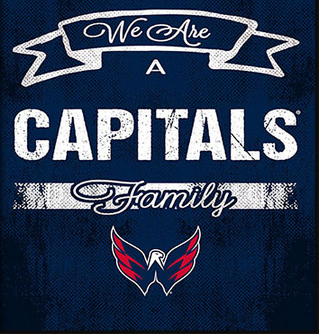 NHL Family Cheer Framed Art - Washington Capitals