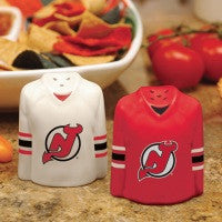 New Jersey Devils Jersey Salt and Pepper Shaker