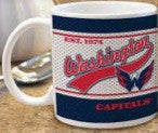 Washington Capitals Jersey Design Mug White 11oz