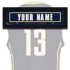 NBA Personalized Jersey Name Patch - Indiana Pacers