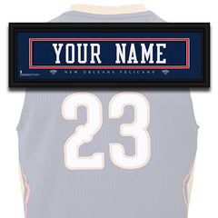 NBA Personalized Jersey Name Patch - New Orleans Pelicans
