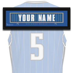 NBA Personalized Jersey Name Patch - Orlando Magic