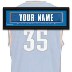 NBA Personalized Jersey Name Patch - Oklahoma City Thunder