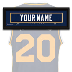 NBA Personalized Jersey Name Patch - Utah Jazz