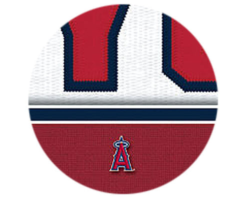MLB Personalized Jersey Name Patch - Los Angeles Angels