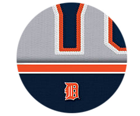 MLB Personalized Jersey Name Patch - Detroit Tigers