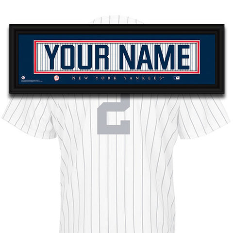 MLB Personalized Jersey Name Patch - New York Yankees