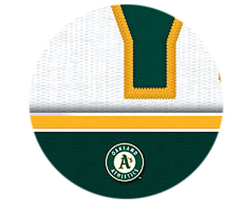MLB Personalized Jersey Name Patch - Oakland Athletics