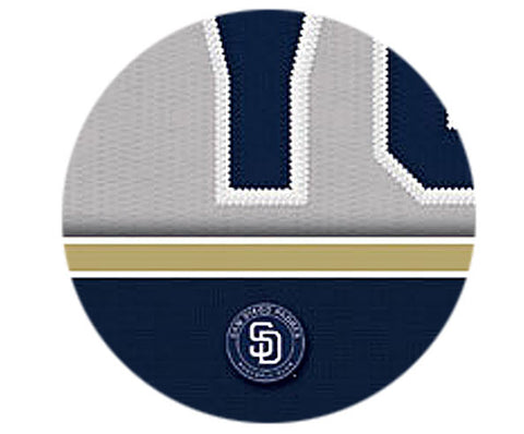MLB Personalized Jersey Name Patch - San Diego Padres