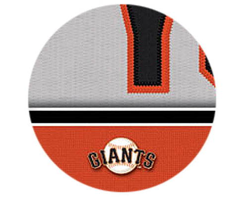 MLB Personalized Jersey Name Patch - San Francisco Giants