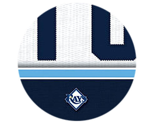 MLB Personalized Jersey Name Patch - Tampa Bay Rays