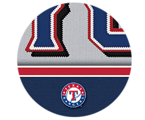 MLB Personalized Jersey Name Patch - Texas Rangers