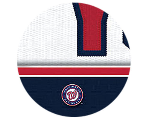 MLB Personalized Jersey Name Patch - Washington Nationals