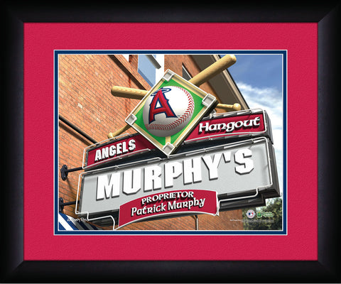 MLB Personalized Pub Sign - Los Angeles Angels