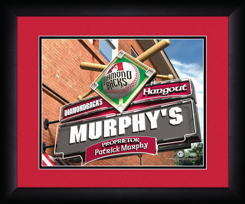 MLB Personalized Pub Sign - Arizona Diamondbacks
