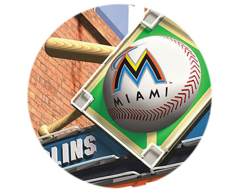 MLB Personalized Pub Sign - Florida Marlins