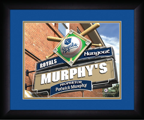 MLB Personalized Pub Sign - Kansas City Royals