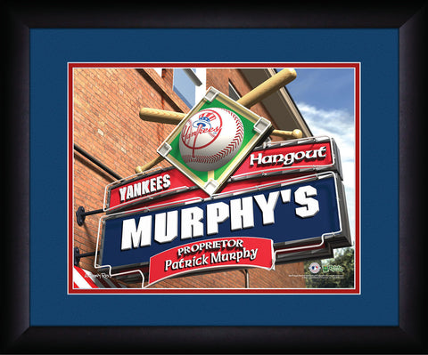 MLB Personalized Pub Sign - New York Yankees