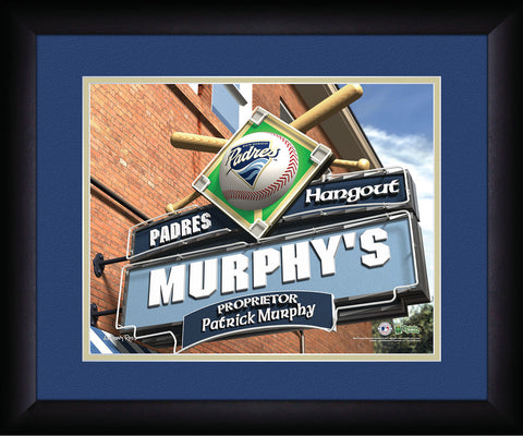 MLB Personalized Pub Sign - San Diego Padres