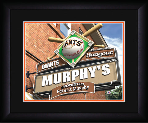 MLB Personalized Pub Sign - San Francisco Giants