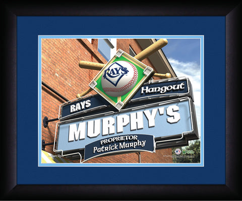 MLB Personalized Pub Sign - Tampa Bay Rays